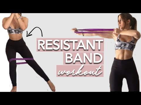 Best Full Body Resistant Band Workout (10 MINUTES)