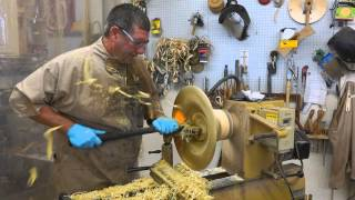 Jerry Measimer Maker of Hand Turned Wooden Cowboy Hats