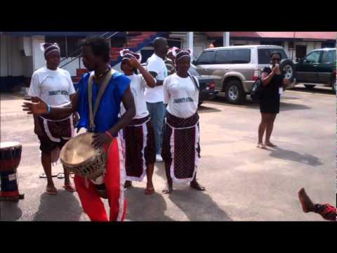 Korto Momolu Returns Home to Liberia Part 1 (Airport Arrival and Welcome)