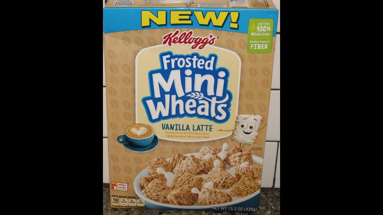 Vanilla Latte Frosted Mini Wheats