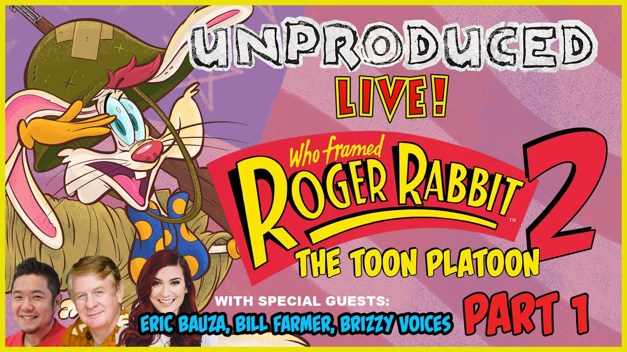 Roger Rabbit 2 Toon Platoon Part 1 Of 2 Unproduced Live Lowcarbcomedy Youtube