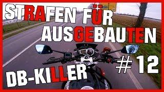 Strafen für fahren ohne DB-Killer ☝👮💵 | MotoVlog #12
