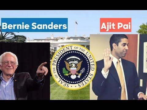 Ajit Pai vs Bernie Sanders | Election Prediction | #NetNuetrality