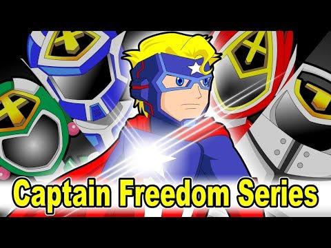 "20 mins Citi Heroes Series 22 ""Captain Freedom"""