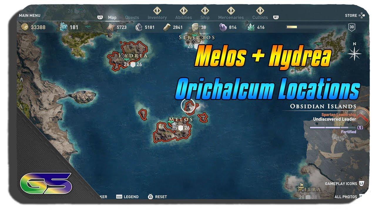 AssassinS Creed Odyssey Obsidian Inseln