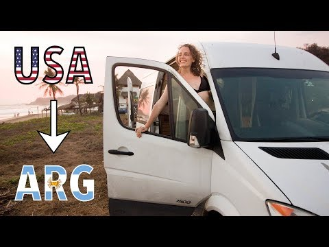 VAN LIFE USA To Argentina | We're Driving To SOUTH AMERICA!!