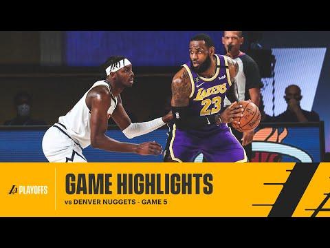 HIGHLIGHTS | LeBron James (38 pts, 16 reb, 10 ast) vs Denver Nuggets