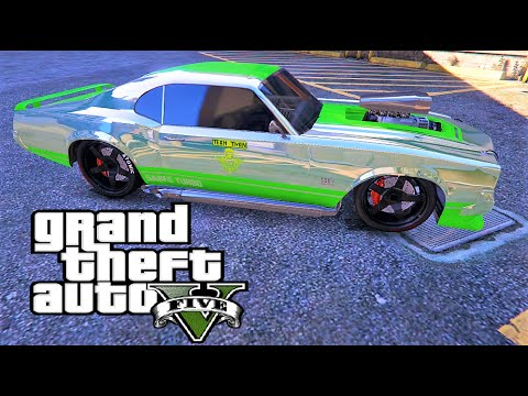Gta Muscle Cars And Offroad Lets Race Gta Online Youtube