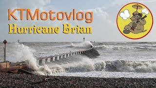 KTMotovlog #3 - Hurricane Brian: South Coast UK