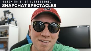 Snapchat Spectacles Unboxing & First Impressions!