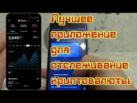 Лучшее приложение для отслеживание криптовалюты Дельта (Delta). Трекер портфелей.