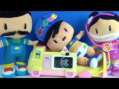 Pepee'nin Bebekliği Bıyıklı Pepee baba Ağlayan Bebek Pepe ile doktorculuk oyunu Pepee Şila Bebee