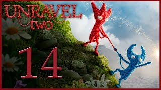 Unravel 2 - Кооператив - Caught in a mosh - Испытание 8 [#14] | PC