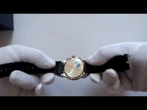 Casio Edifice EF - 552-1AVEF часы мужские кварцевые видео обзор