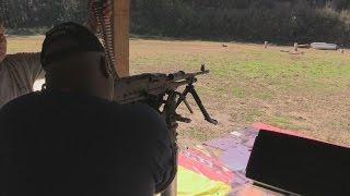 FN 240 Bravo 308 Machine Gun