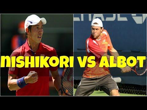 Kei Nishikori vs Radu Albot | QF New York 2018 Highlights