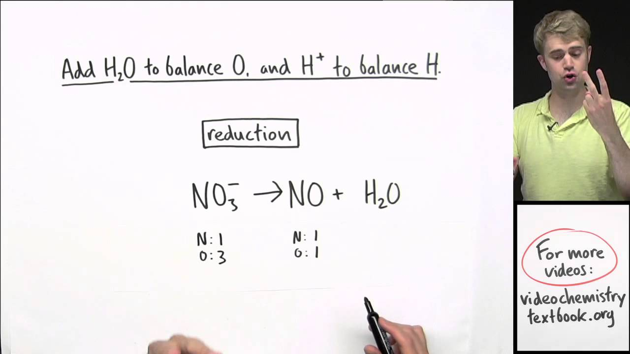 How to Balance Redox Equations in Acidic Solution image