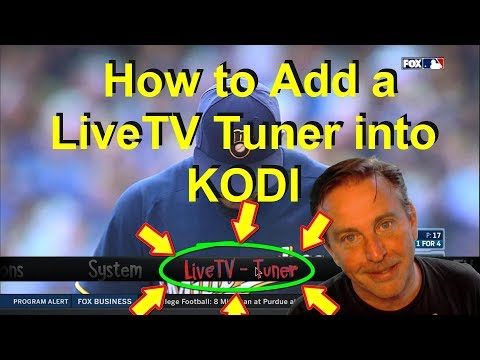 LIVE TV tuner added to KODI - It is easier than you think