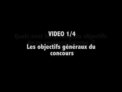 Présentation de l'agrégation interne 2017 de physique-chimie VIDEO 1/4