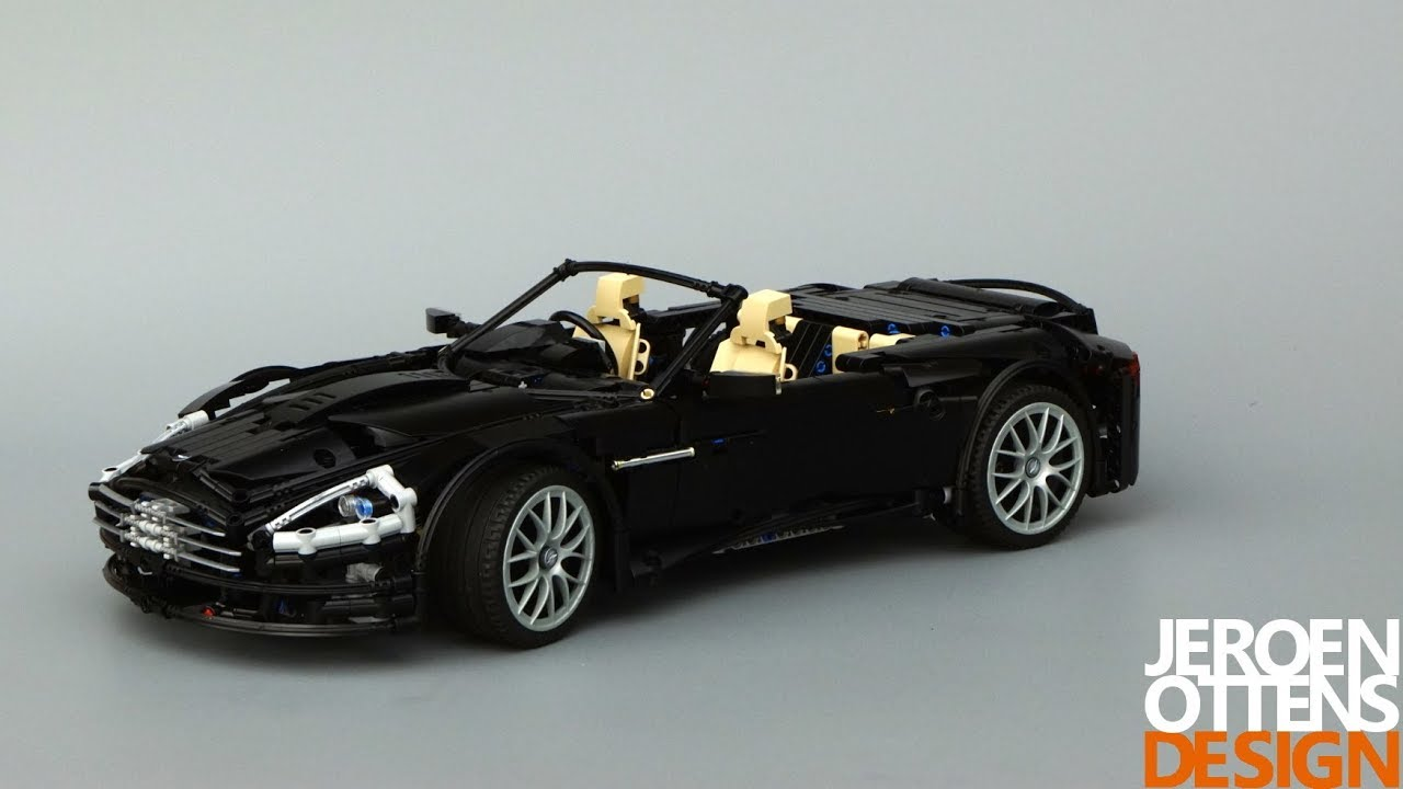 lego technic aston martin db9 volante youtube. Black Bedroom Furniture Sets. Home Design Ideas