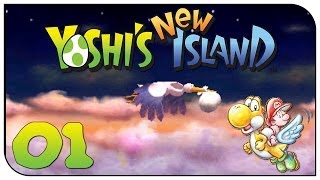 YOSHIS NEW ISLAND #001 - Am Anfang war der Storch ♣ Let