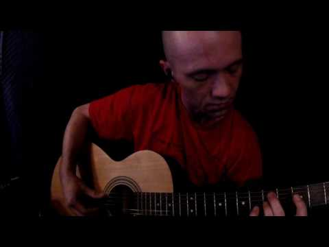 Guitar Playing, Tapping, and Scratching ASMR 3Dio 60FPS