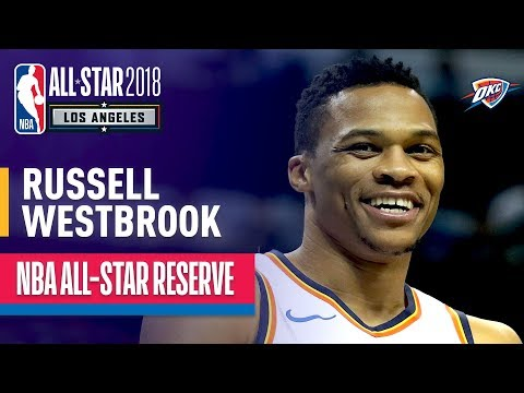 Russell Westbrook All-Star Reserve   Best Highlights 2017-2018