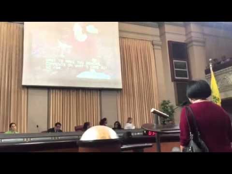 Jean Quan Former Oakland Mayor Talks Housing At City Council