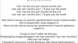 Bingle Bingle (Lyrics) BIG BANG