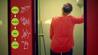 Stand-to-pee device to tackle Indian women's toilet woes