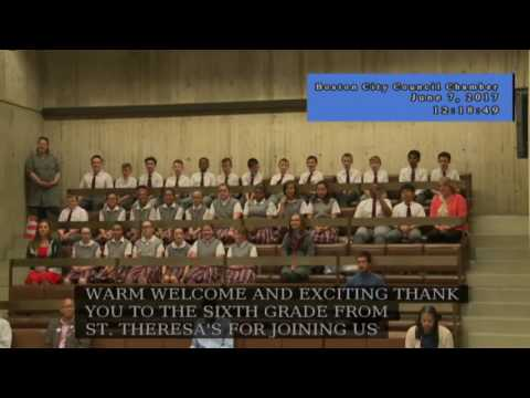 Boston City Council Meeting on June 7, 2017