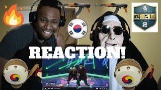 High School Rapper 2 (고등래퍼 2) - 배연서 (Webster B) & 오담률 (Chin Chilla) - 북 @1차팀대항전 | REACTION!