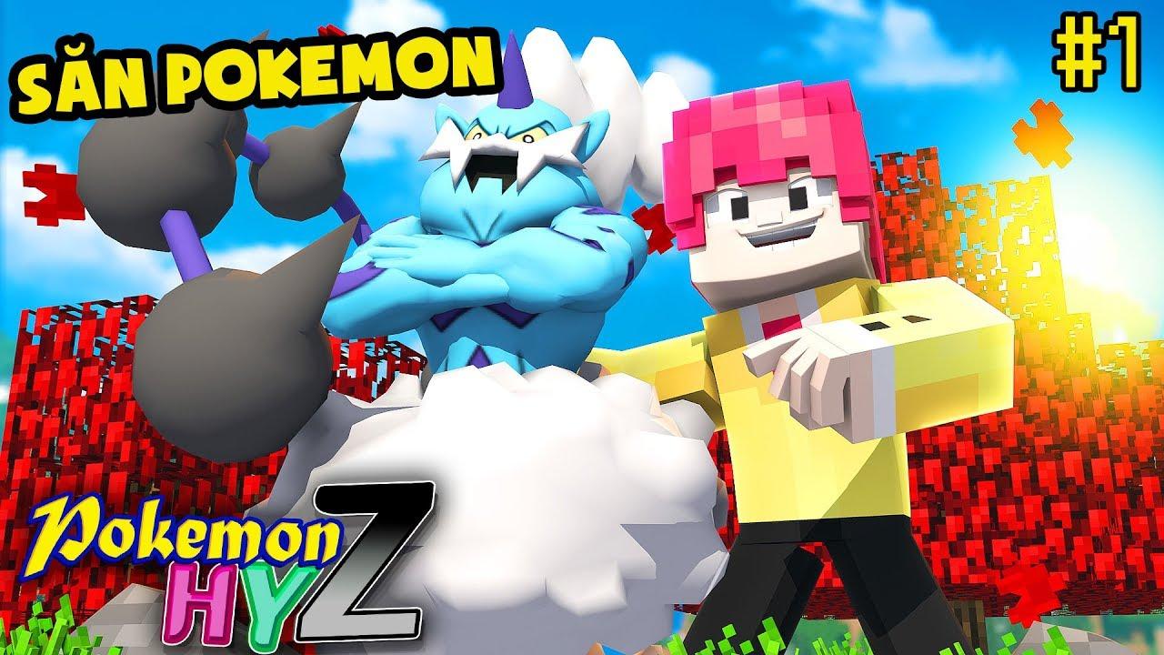 Pokemon HYZ #1 – SỰ KHỞI ĐẦU ĐẦY NIỀM VUI CỦA BỘ BA POKEMON*XÂY NHÀ VÀ BẮT POKEMON 😍🐉