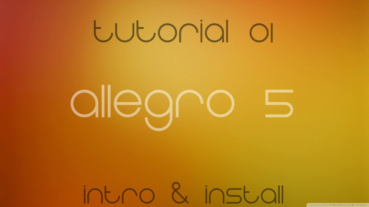 C++ Allegro 5 Made Easy