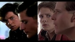 Eric Stoltz vs Michael J. Fox (Back to the Future Comparison)