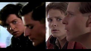 Eric Stoltz Vs Michael J. Fox (Back To The Future Comparison)