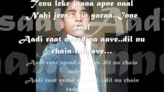 Tenu Le Ke Jana with Lyrics