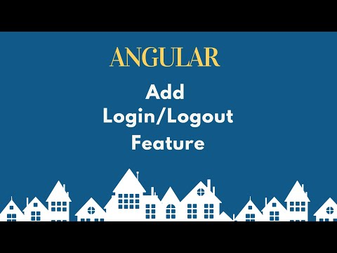 Add Login Logout Functionality