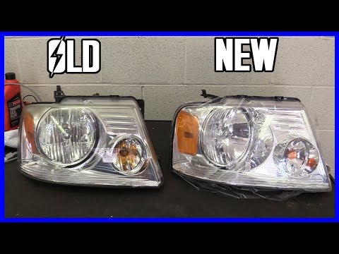 How to Replace Headlight Ford F-150 2004-2008 | EASY!