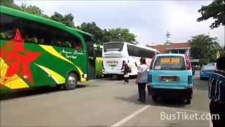 Bus Arjuna Samba dan Gunung Mulia