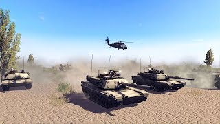US TANK GROUP DEMOLISHES DEFENSE LINE | Call to Arms Gameplay