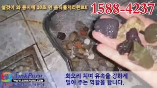 싱크퓨어경기총판-음식물처리기 시연동영상