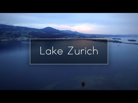 Lake Zurich, Switzerland - 4K Aerial Drone Footage