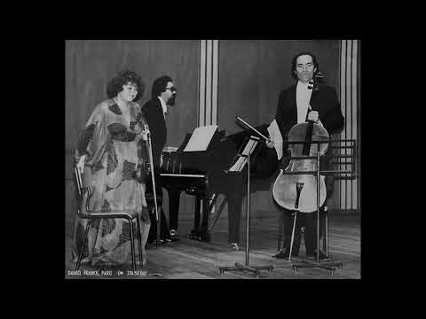 J. Brahms - Trio for Clarinet (Violin), Cello & Piano in A minor, Op. 114