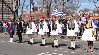 Hellenic Pride along the Benjamin Franklin Parkway