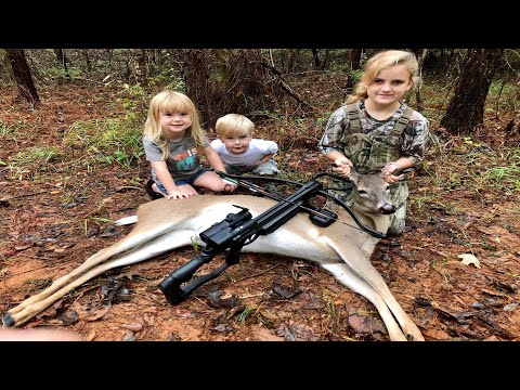 Crossbow Deer Hunt From the Ground