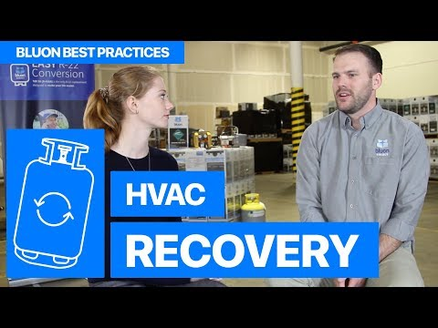 How To Recover Refrigerant • Bluon HVAC Best Practices #01