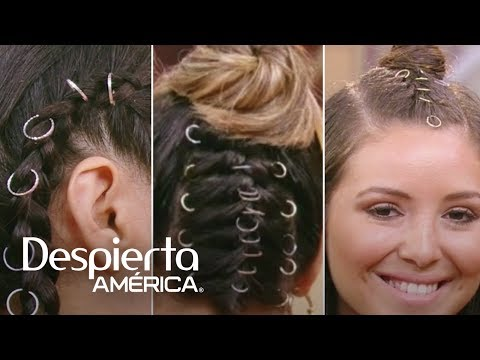 Anillos en el cabello, la nueva tendencia entre las famosas