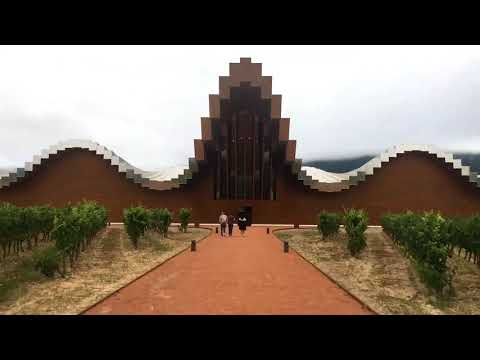 wine article Bodegas Ysios in Rioja  Tour of a Stunning Winery MustSee