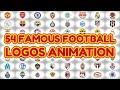 Football logos animation